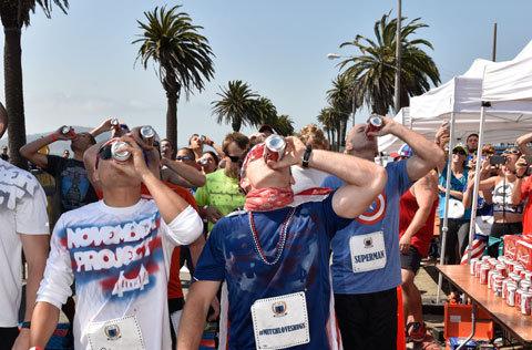 Öl och löpning – det finns faktiskt en del hälsofördelar!
