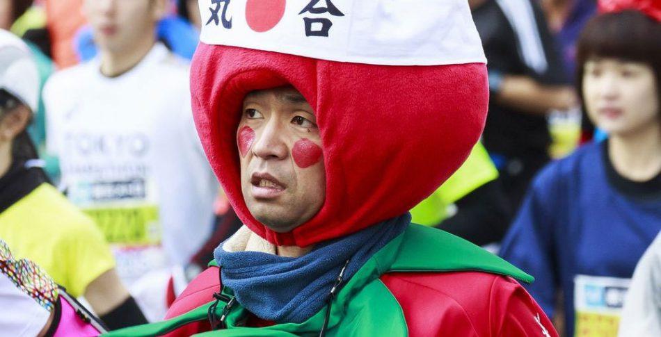 De roligaste och knasigaste utstyrslarna från Tokyo Maraton!
