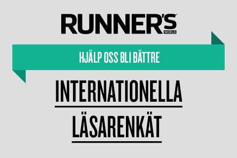 Runner's World internationella läsarenkät 2016
