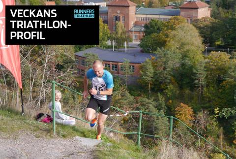 Veckans triathlet: Patric Johansson