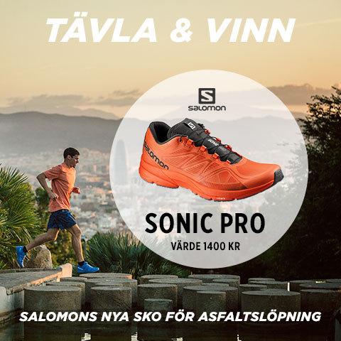 Tävla och vinn Sonic Pro –Salomons nya asfaltssko!