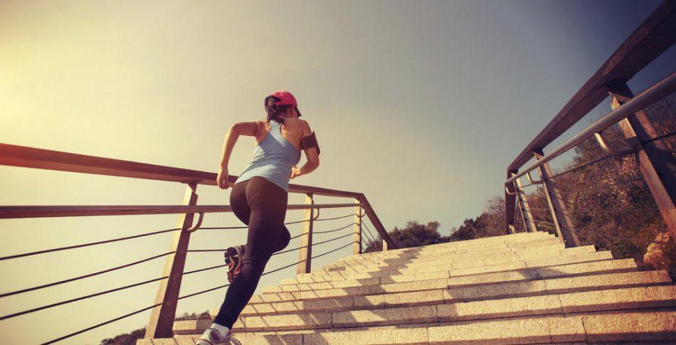 Ta trapporna! Passen som sätter fart på formen och löpsteget