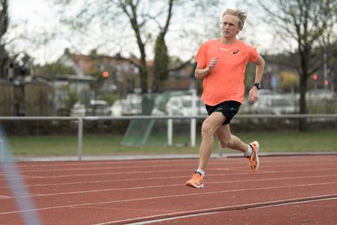 David Nilsson är i högform inför VM i halvmarathon på lördag