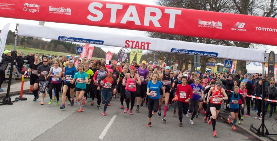 Kolla in alla bilderna från Women's Health Halvmarathon!