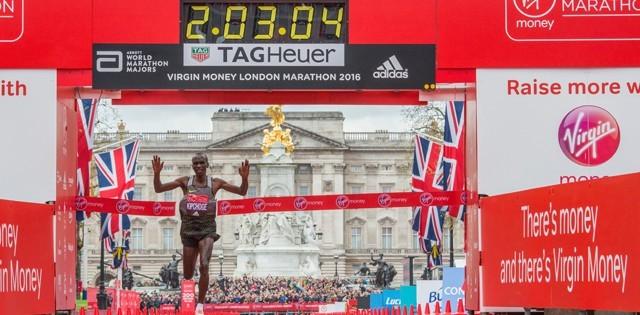 Världsrekordet hotat i London Marathon
