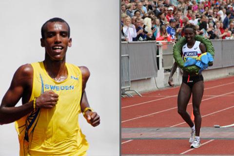 Både Isabellah och Musse på startlinjen i Stockholm Marathon