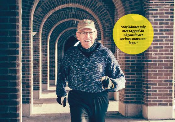 Knut, 89, är äldst i årets Stockholm Marathon