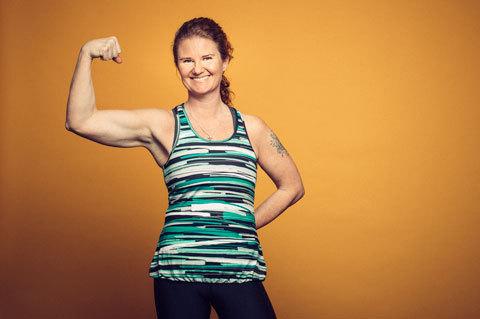 Löpningen gjorde Maria fri från antidepressiva
