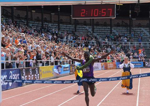 Nytt banrekord på Stockholm Marathon!