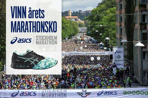 Var det du som vann ASICS fuzeX Stockholm Marathon edition 2016?