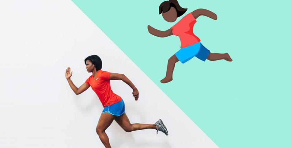 Äntligen blev det en tjej! Facebook släpper kvinnlig löparemoji