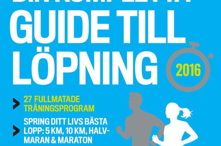 """Tjuvtitt på sommarens bästa läsning för löpare: """"Din kompletta guide till löpning""""."""