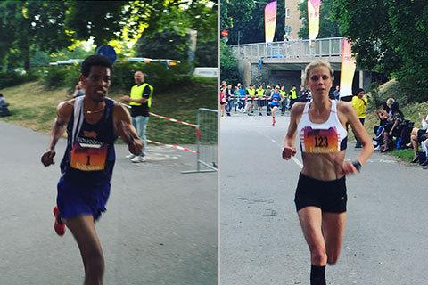 Maria och Abraham snabbast på SM-milen!
