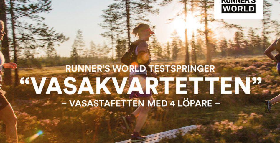 Möt medlemmarna i Team Runner's World för Vasakvartetten