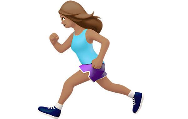 Äntligen kommer Apples egen kvinnliga löparemoji!