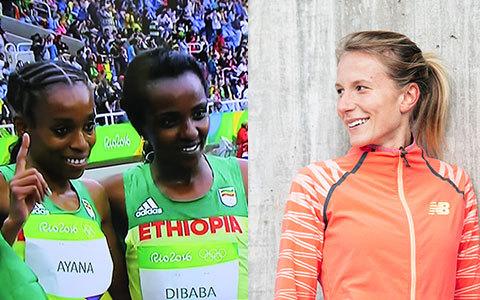 Världsrekord av Ayana och svenskt rekord av Sarah Lahti på 10 000 m!