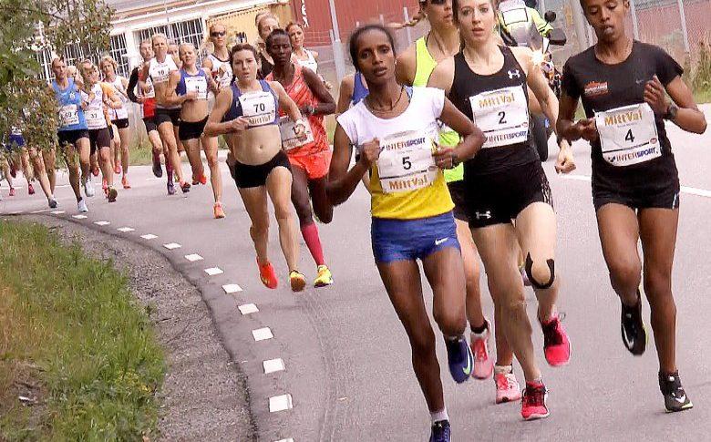 Etiopisk seger i Tjejmilen