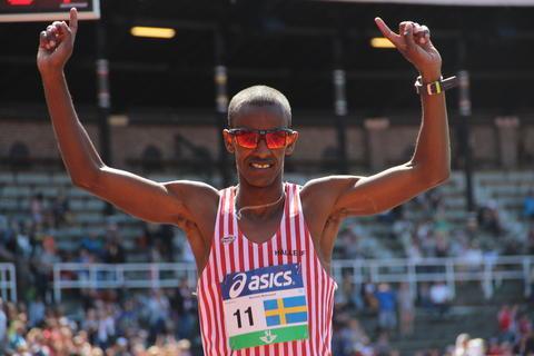 Musse jagar första segern i Stockholm Halvmarathon