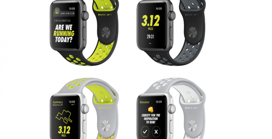 Nike och Apple lanserar Apple Watch Nike+