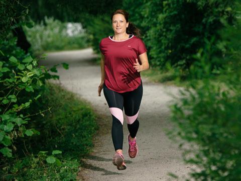Så gick Katja från överviktig och svårt sjuk till pigg och stark löpare