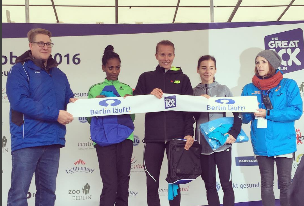 Nytt svenskt rekord på 10 km av Sarah Lahti!