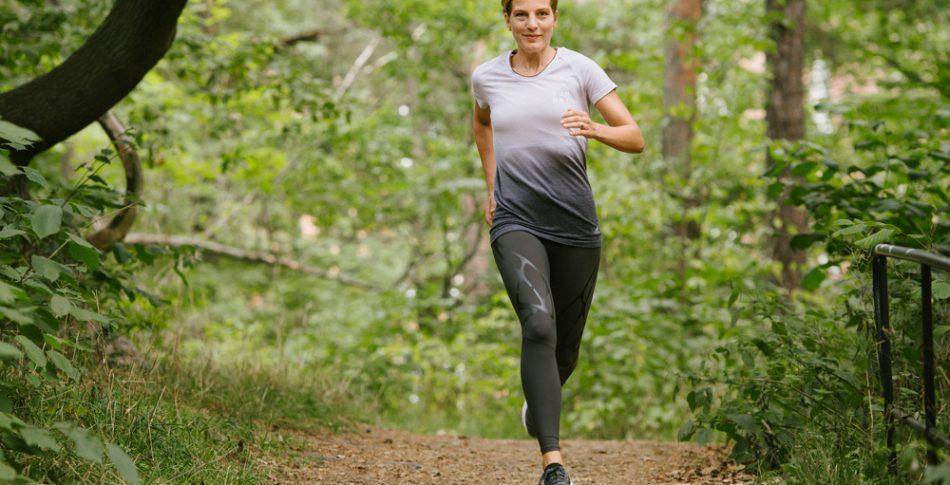 Jessica lever drömmen – bytte juridiken mot löpning