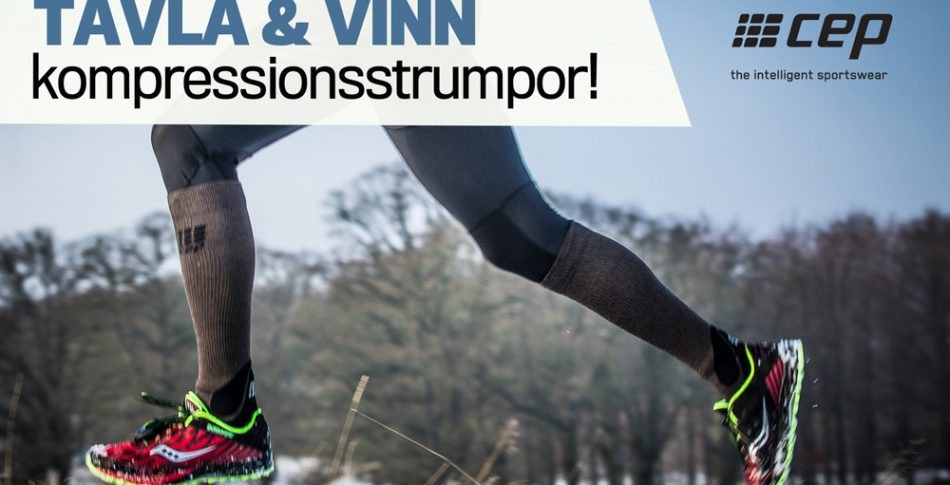Tävla & vinn: Smarta och varma kompressionsstrumpor!