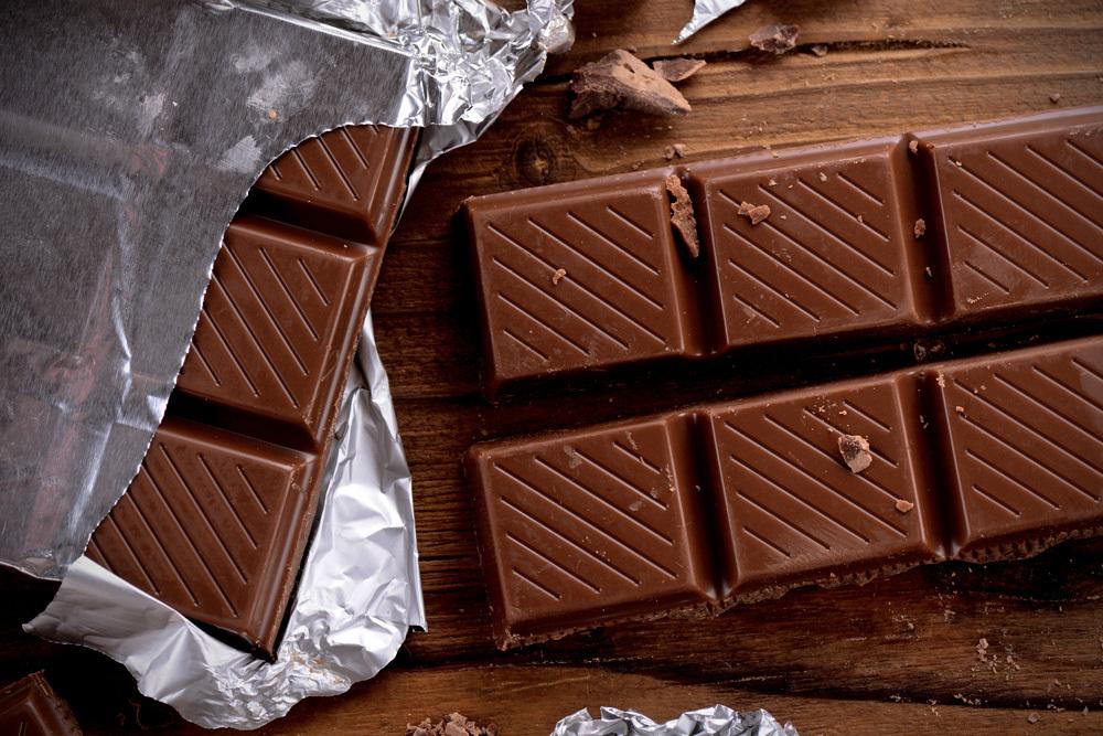 Svart choklad kön