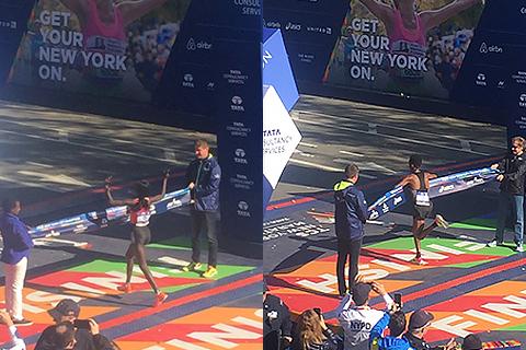 Keitany och Ghebreslassie snabbast i New York Marathon 2016!