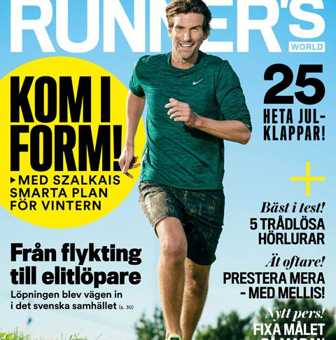 Tjuvtitt på Runner's World nr 11 2016
