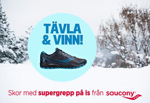 Tävla & vinn: Löparskor med supergrepp på is!