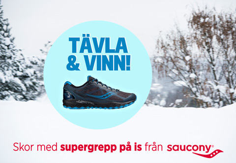 Var det du som vann löparskor med supergrepp på is?