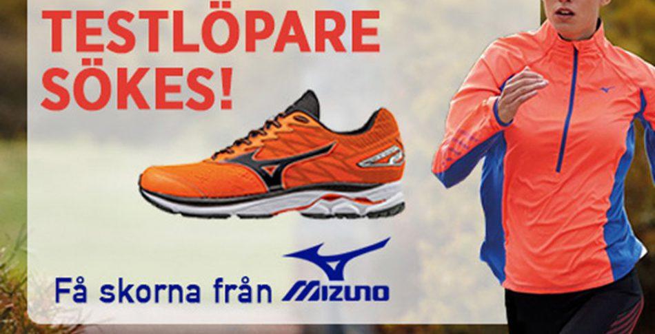 Blev du testlöpare av Mizuno-skorna?