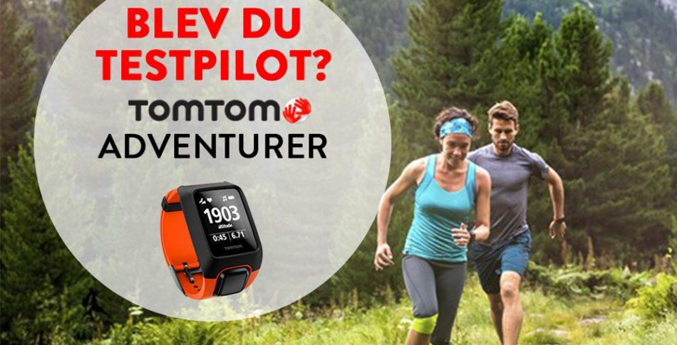 Vann du GPS-outdoorklockan Adventurer från TomTom?
