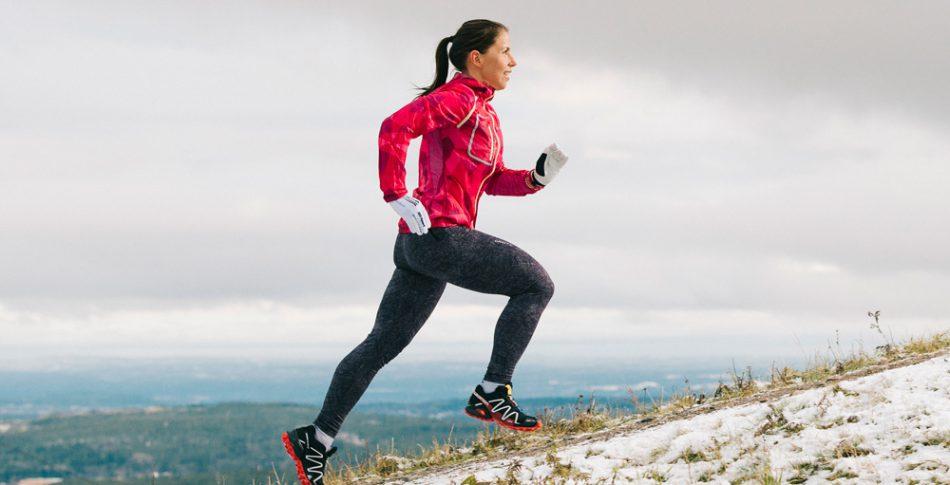 Charlotte Kalla: Jag sprang mig i form!