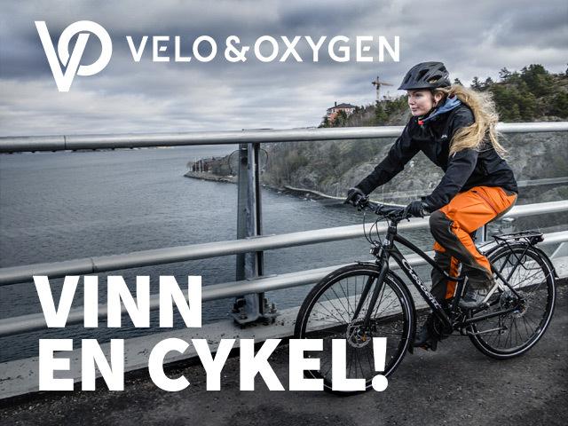 Vinn hybridcykel från Crescent och Velo & Oxygen!