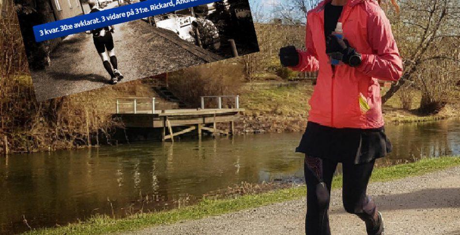 31 timmar & 207 km gav Nina rekord i Trosa Ultra Backyard