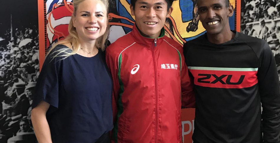 100 km långpass för Yuki inför Stockholm Marathon