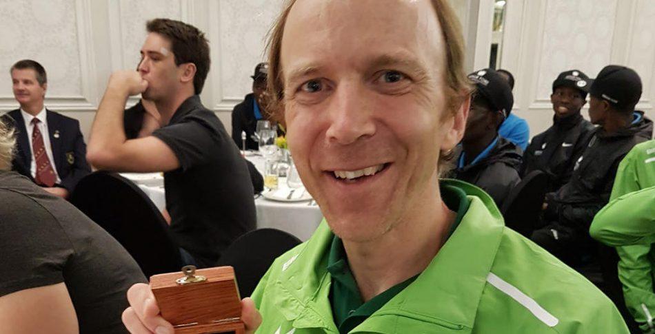 Fritjof tog guldmedalj i världens största ultralopp