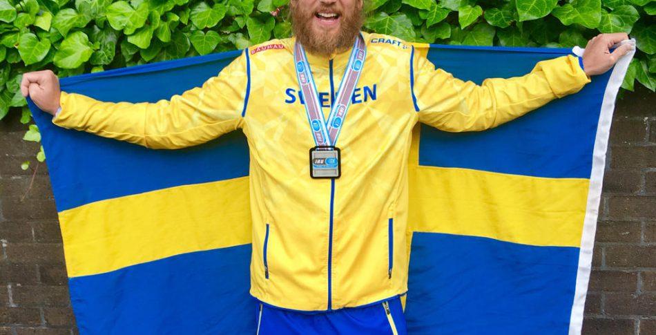 Steene slog rekord med 6,3 maror på ett dygn och tog VM-silver!!