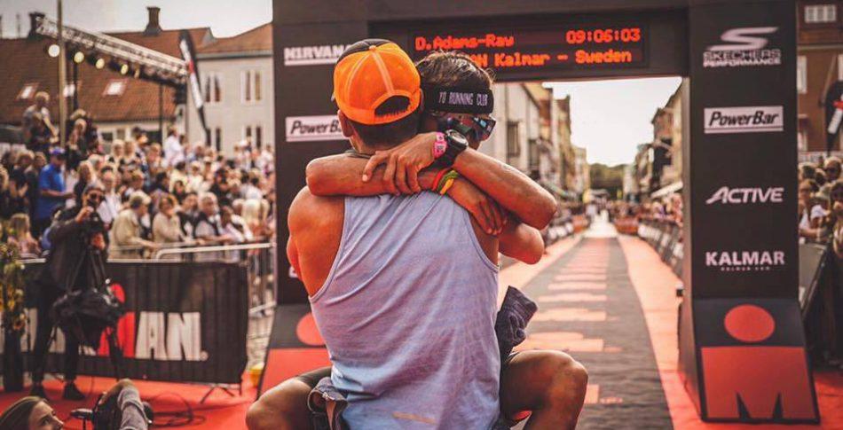 Gabriel Björlin ungt utropstecken i Ironman Kalmar
