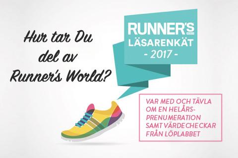 Hjälp Runner's World att bli bättre!