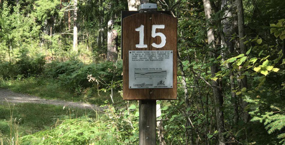Passen som fixar formen till Lidingöloppet – häng med och spring sista milen