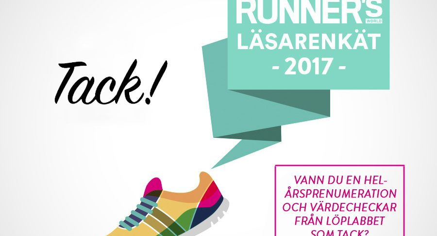 Så långt springer Runner's World-läsaren helst