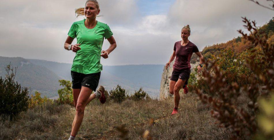 Svenska bergslöpare utmanar i Templiers