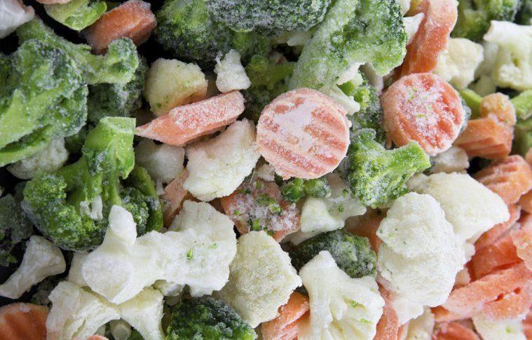 Grönsaker: Byt färska mot frysta