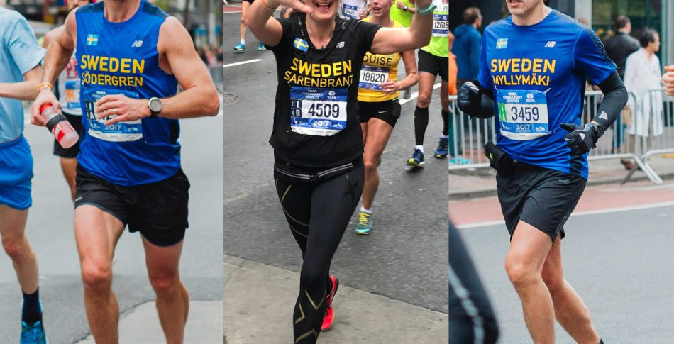 Starka utmanare i mål i New York City Marathon