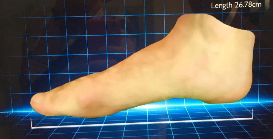 3D-scanning ger framtidens löparsko