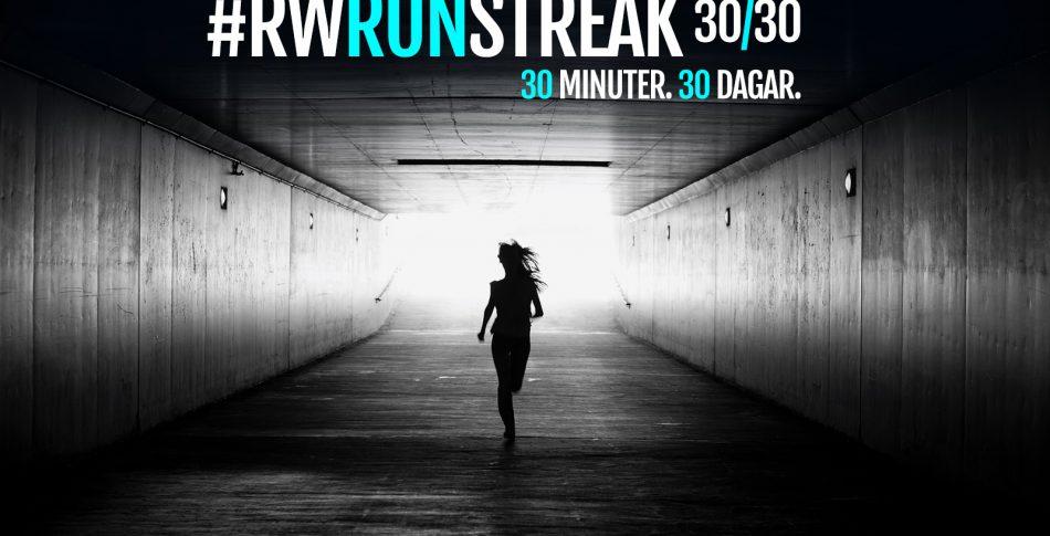 Nytt år, nya vanor – så fixar du RWRunStreak 30/30!