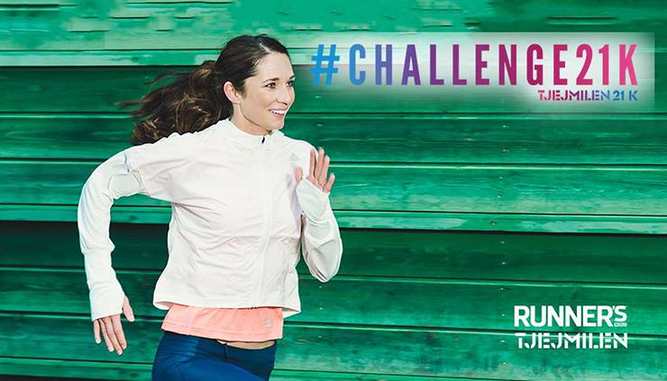 Kom och spring med Lisa och #Challenge21K i  Umeå!